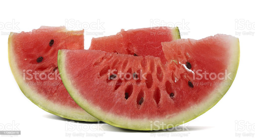 Watermellon slices royalty-free stock photo