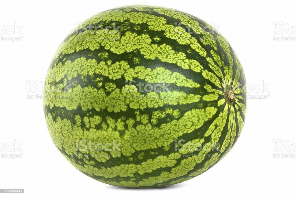 Watermelon angle royalty-free stock photo