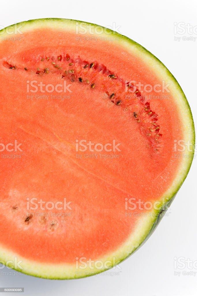 Watermelon [Citrullus lanatus] stock photo