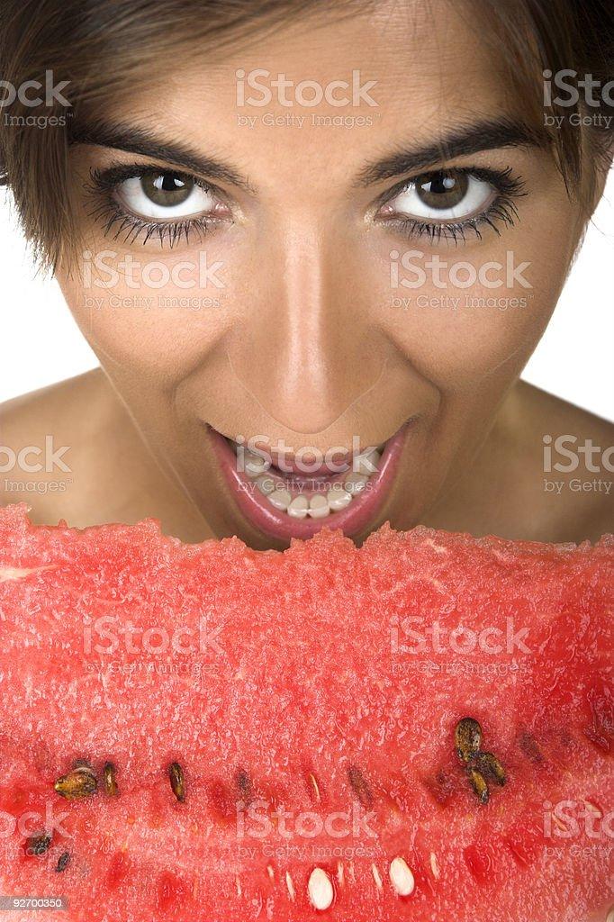 Watermelon desire royalty-free stock photo