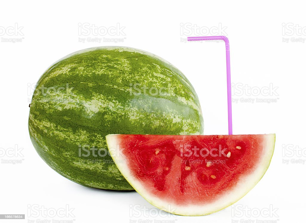 Watermelon Drink royalty-free stock photo