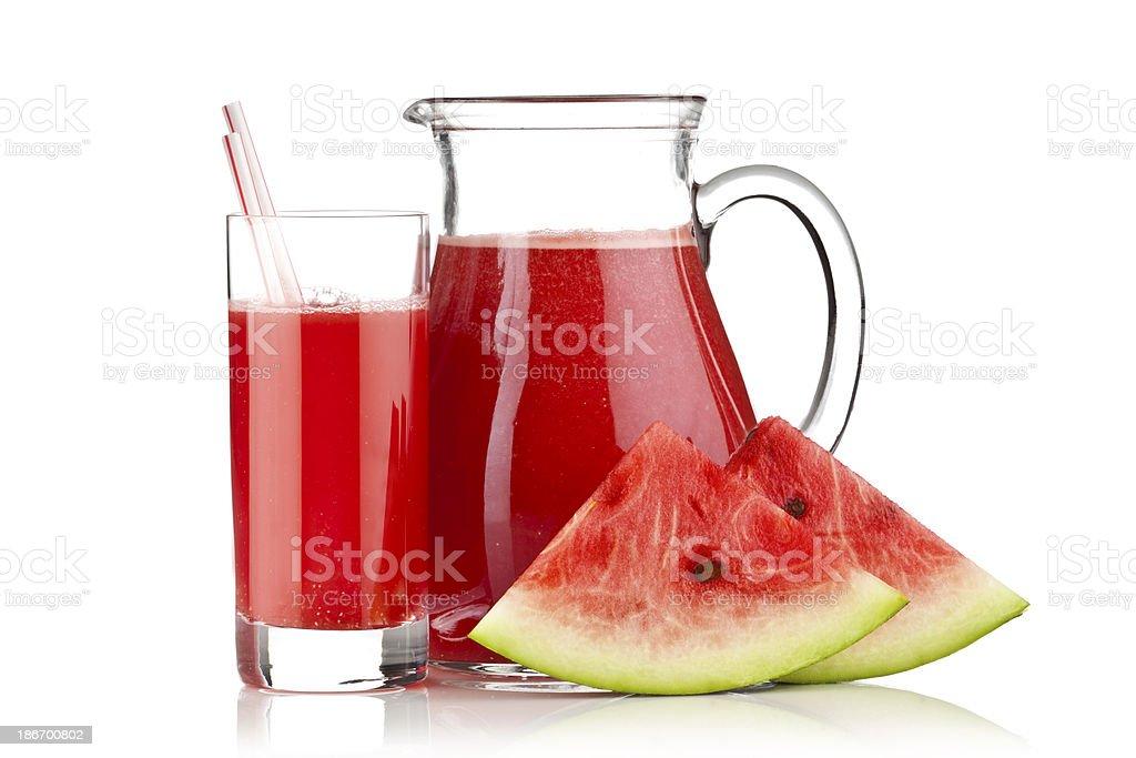 Watermelon Juice royalty-free stock photo