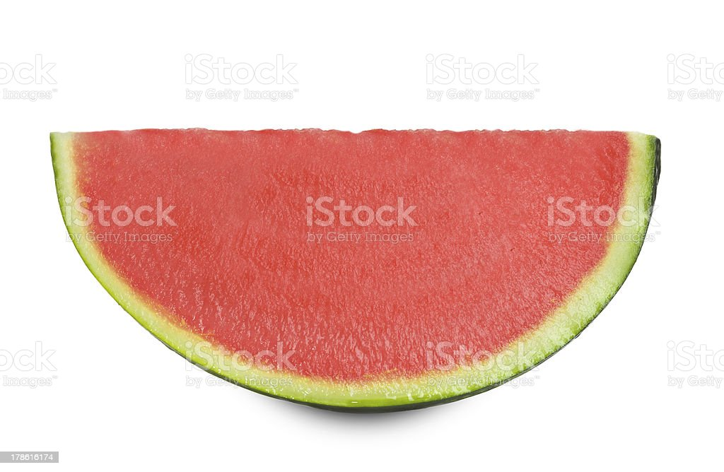 Watermelon without seeds royalty-free stock photo