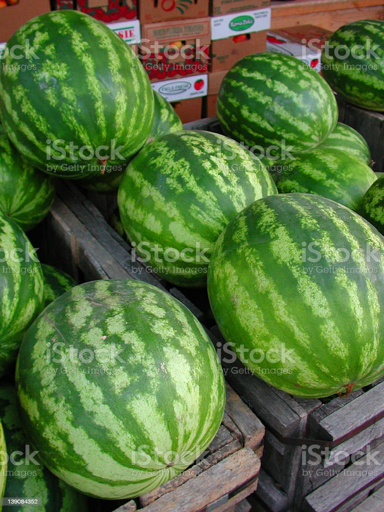 Watermelons royalty-free stock photo