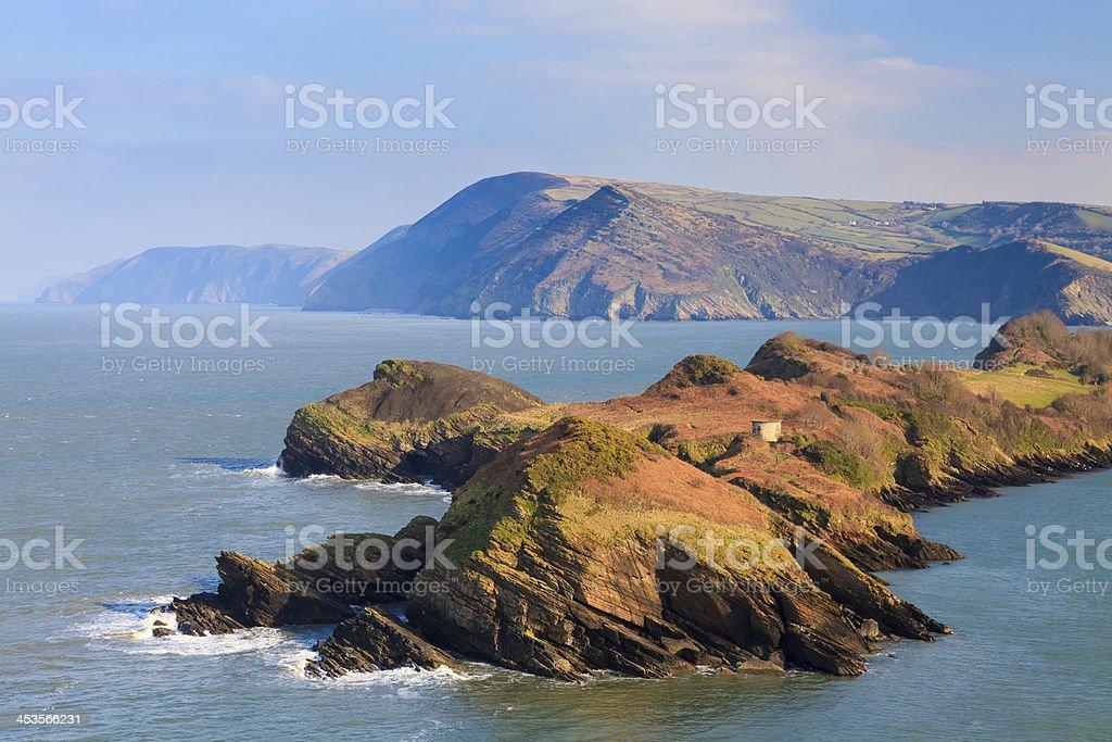 Watermouth Cove Devon en Angleterre photo libre de droits