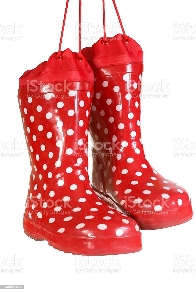 water-proof boots royalty-free stock photo