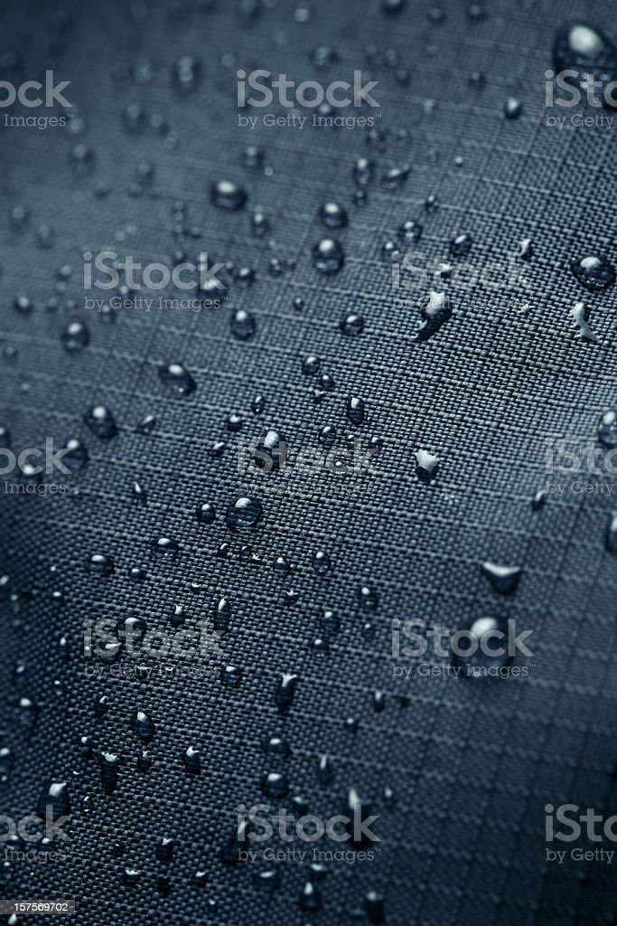Waterproof Material stock photo