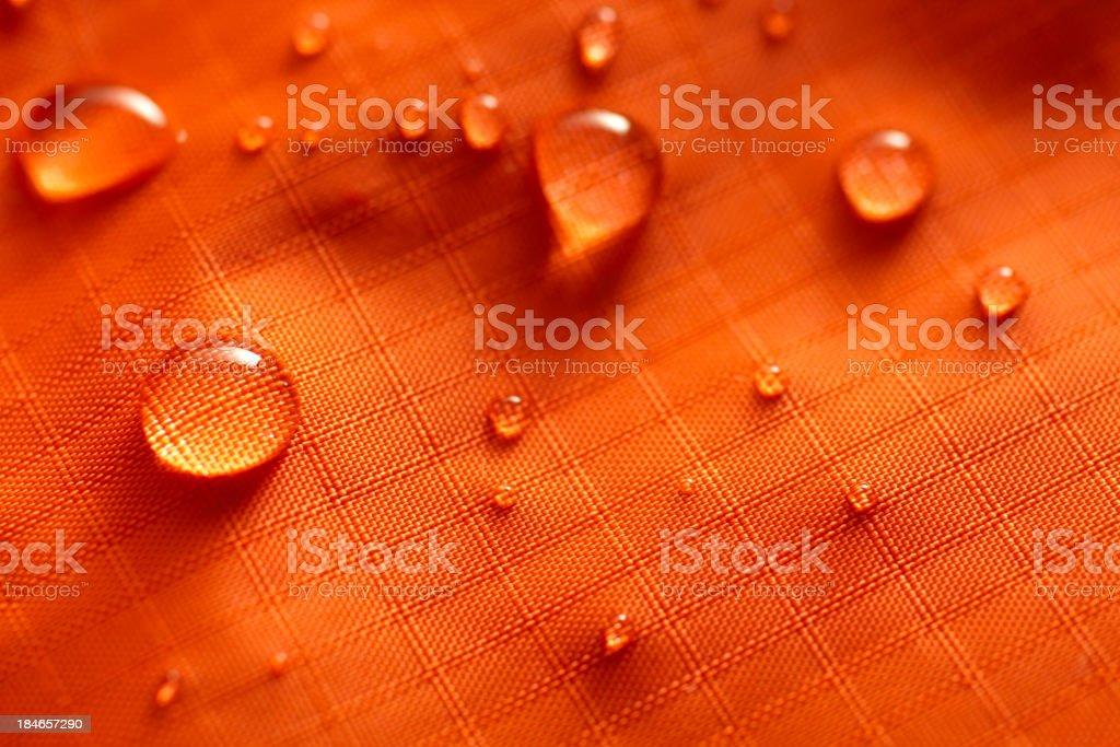 Waterproof Nylon stock photo