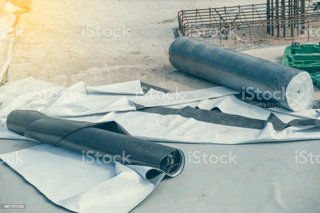 Waterproof rolls 2 stock photo