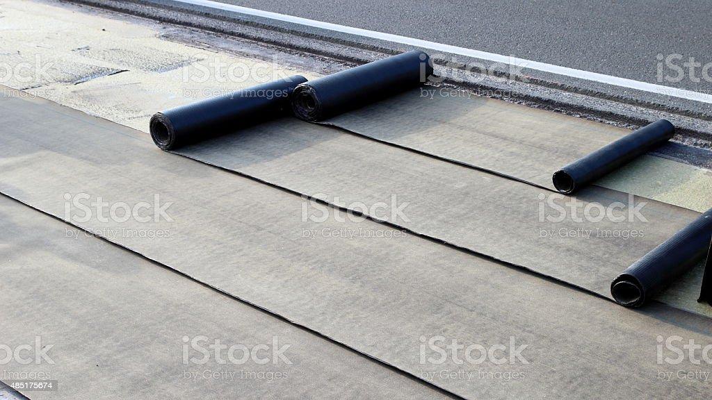 Waterproofing stock photo
