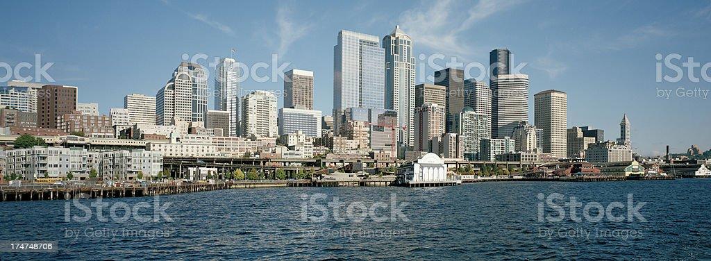 Water's Edge in Seattle, Washington, United States royalty-free stock photo