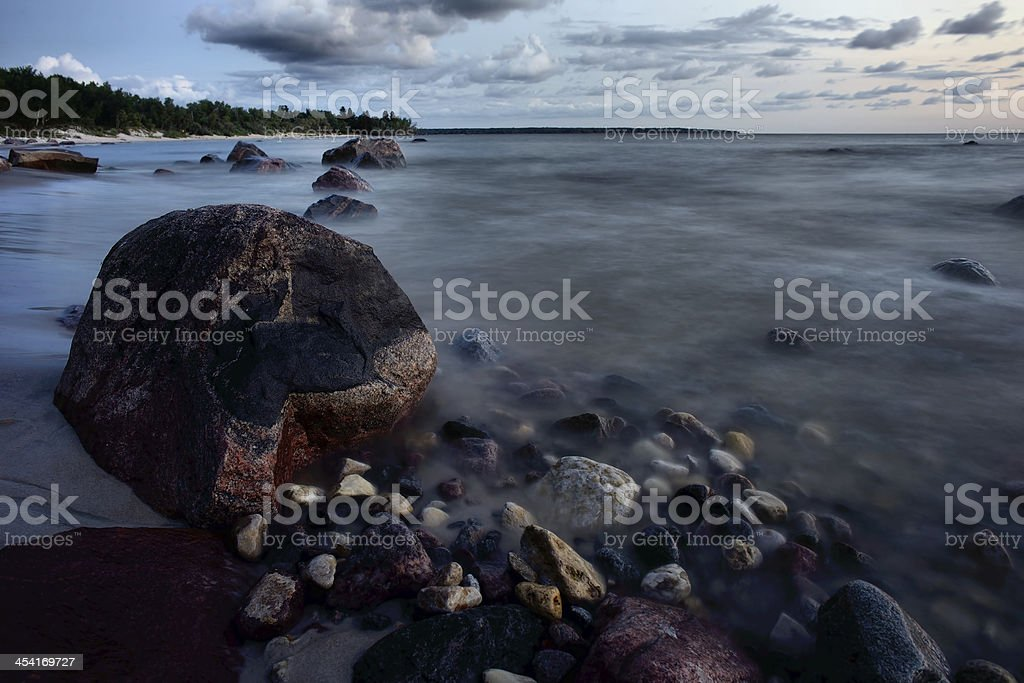 Waters Edge royalty-free stock photo