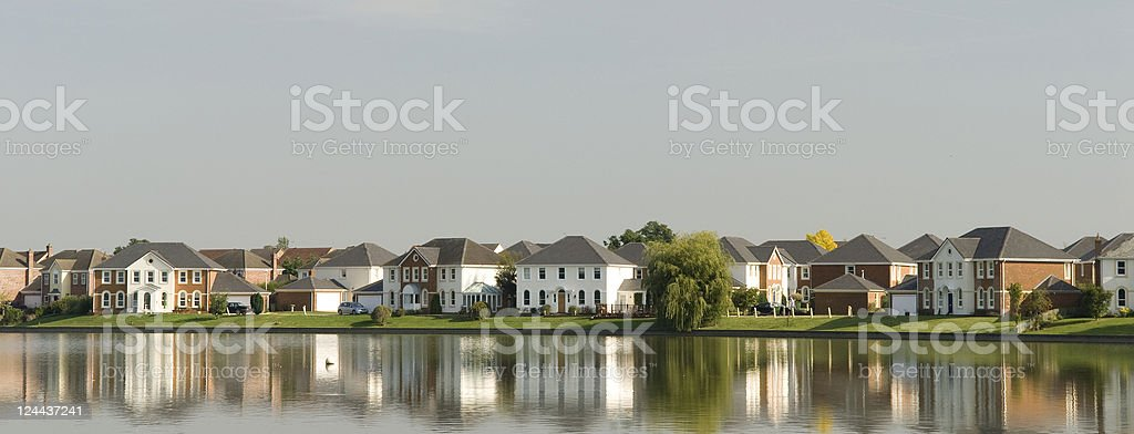 Waterside Development royalty-free stock photo