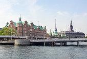 waterside scenery in Copenhagen