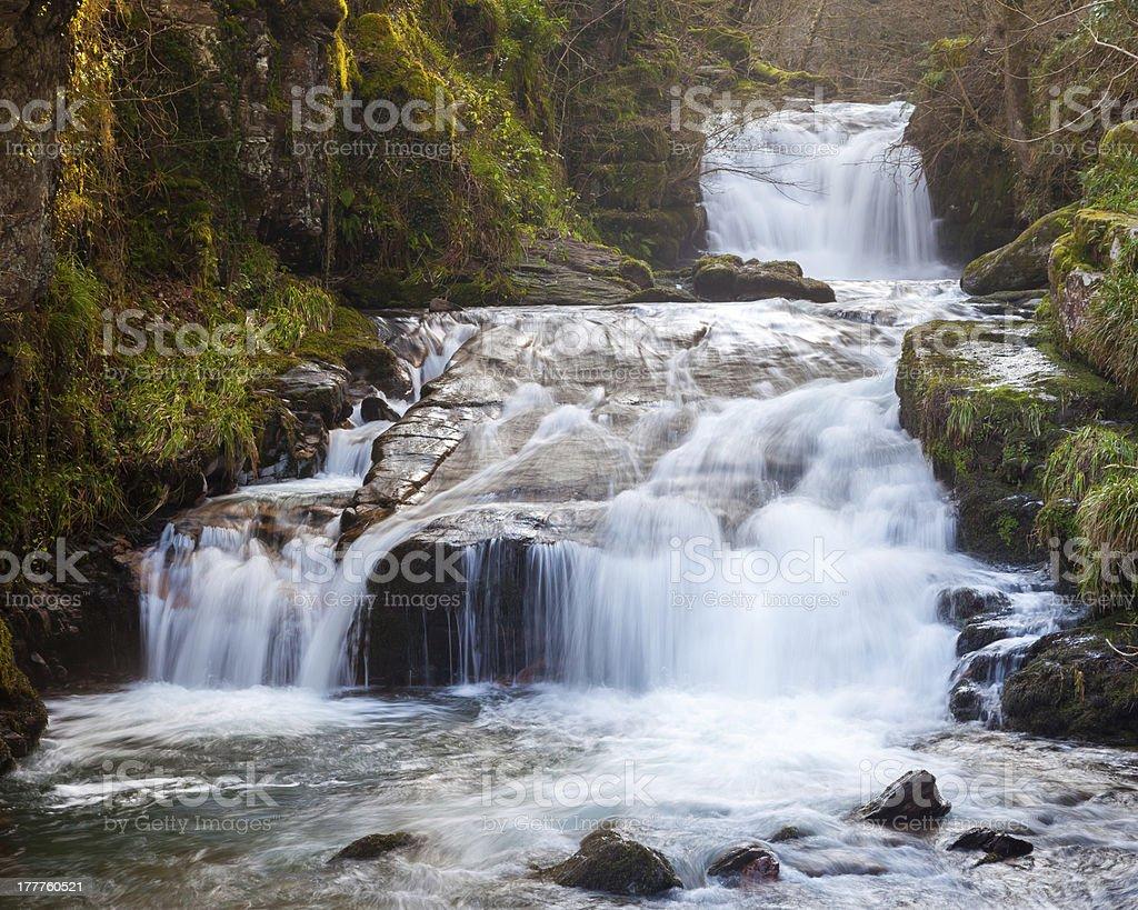 Watersmeet Devon en Angleterre photo libre de droits
