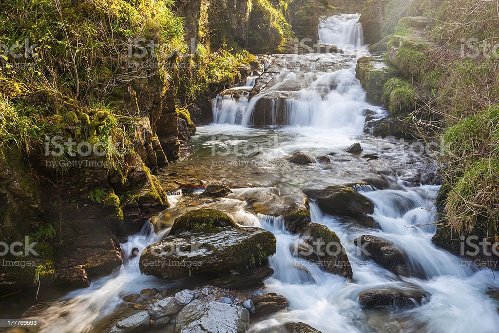 Watersmeet Devon en Angleterre photo libre de droits