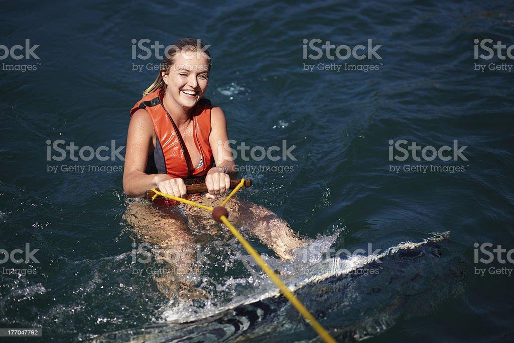 Watersport fun! royalty-free stock photo