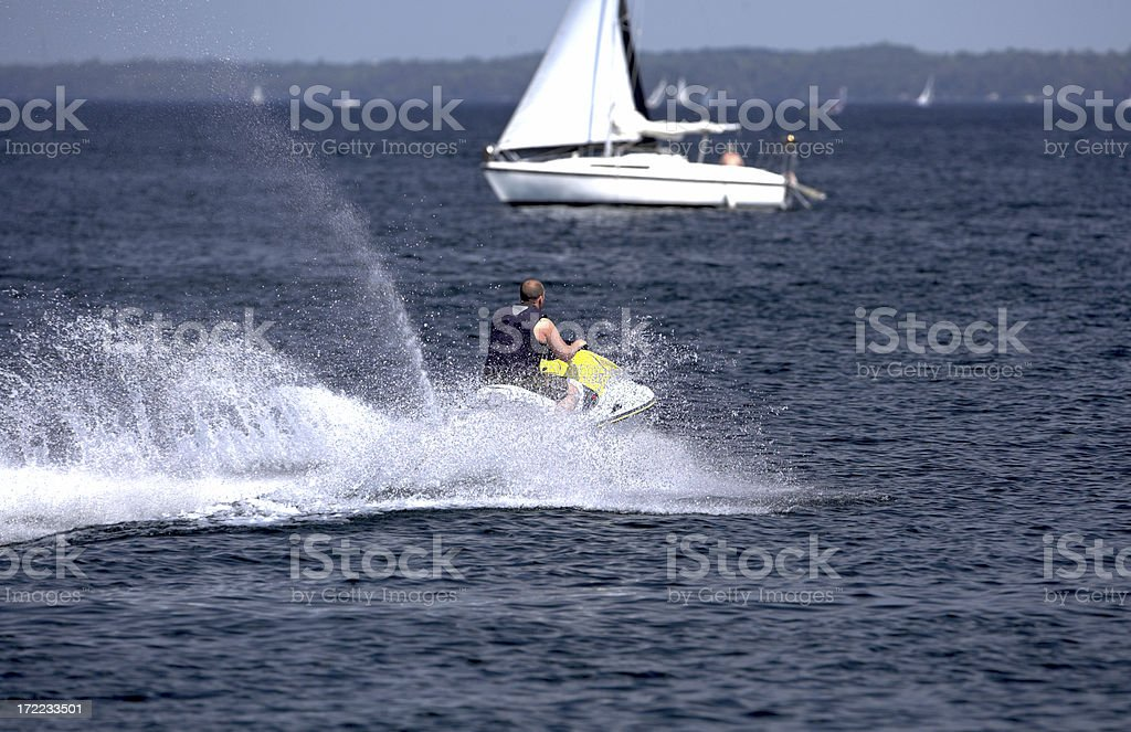 Watersports royalty-free stock photo