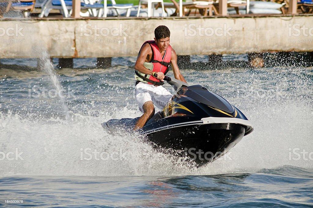 watersports stock photo