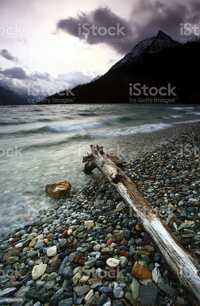 Waterton Lake royalty-free stock photo