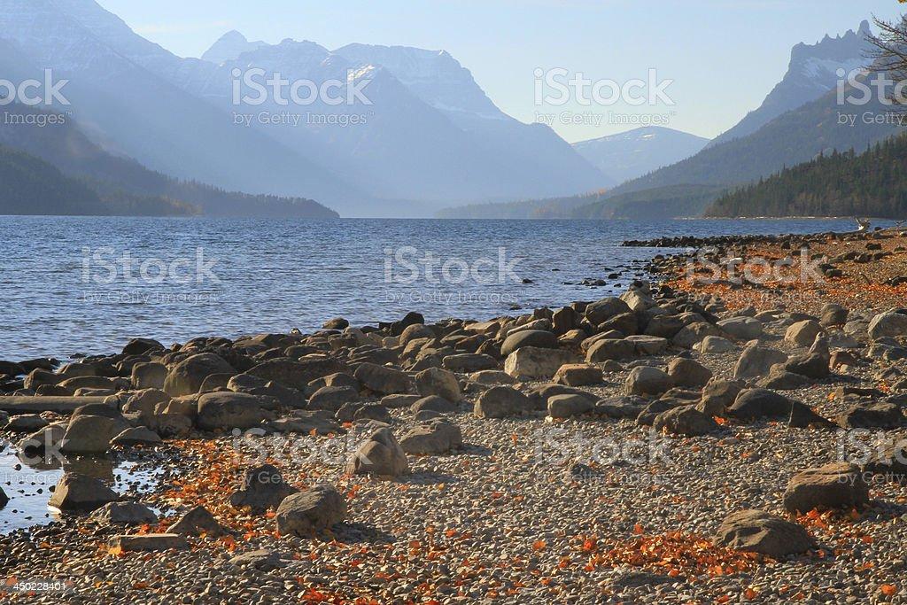 Waterton Lake royalty-free stock photo