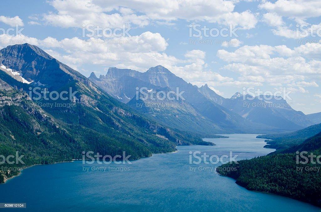 Waterton Lakes National Park, Alberta Canada stock photo