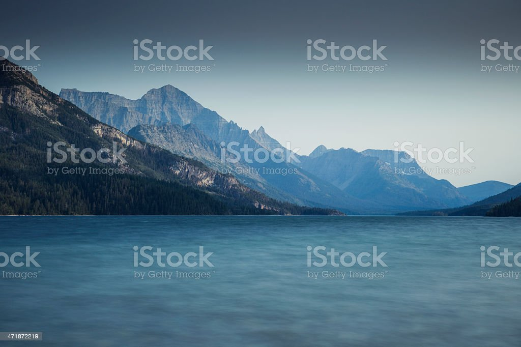 Waterton Lakes National Park royalty-free stock photo