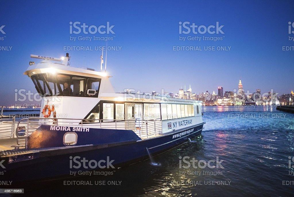 NY Waterway Ferry stock photo