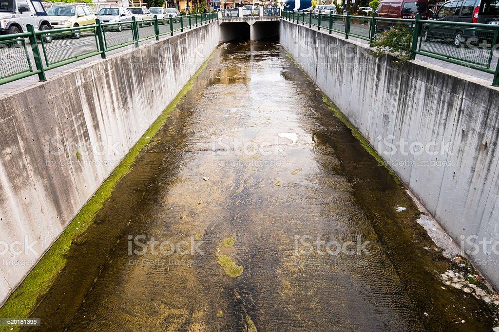 Waterway stock photo