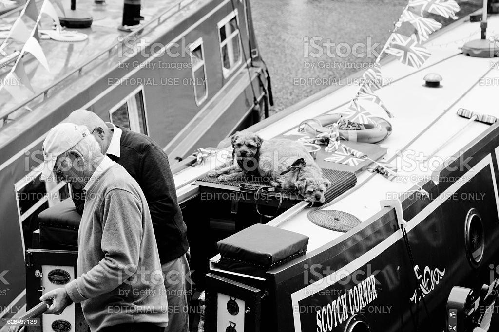Waterways Association Cavalcade stock photo