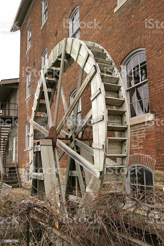 Waterwheel 1 royalty-free stock photo
