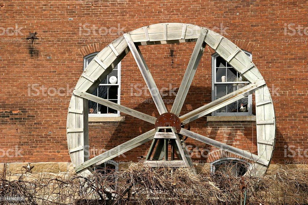 Waterwheel 3 royalty-free stock photo