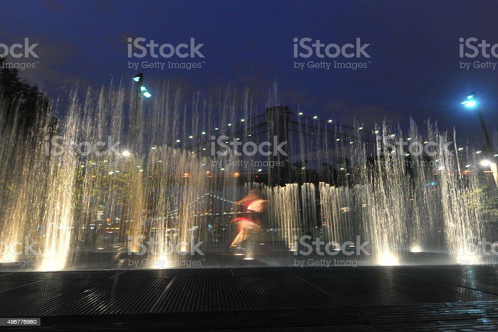 Waterworks stock photo