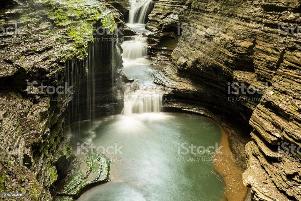 Watkins Glen State Park in upstate New York stock photo