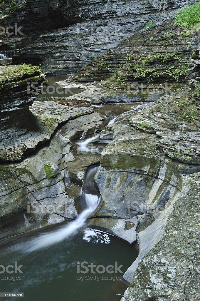 Watkins Glen State Park stock photo
