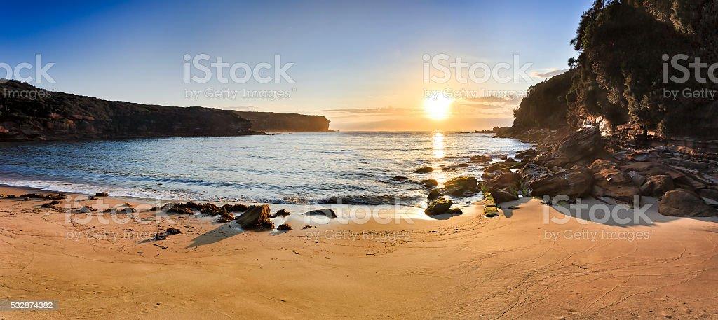 RNP Wattamola bay beach stock photo