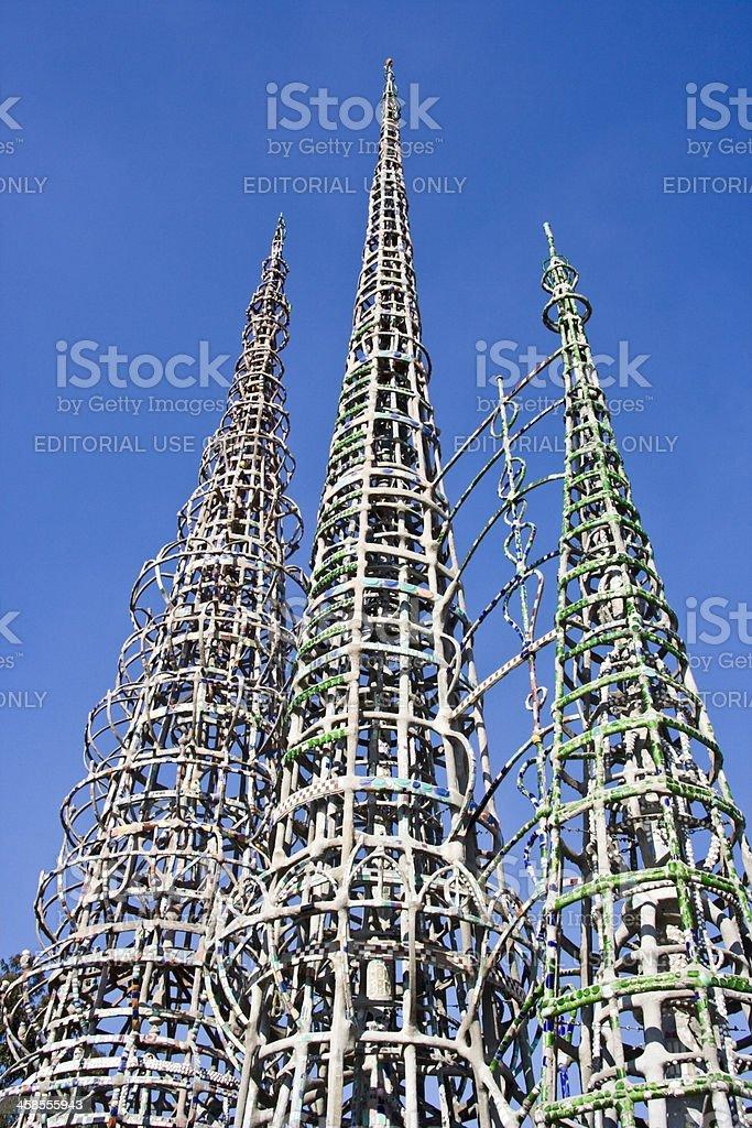Watts Towers stock photo