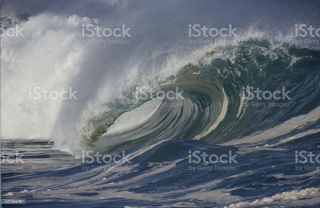 wave 2 stock photo