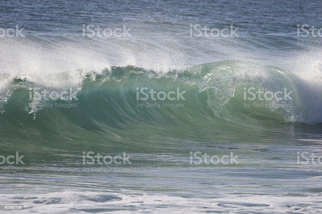 Wave 2 royalty-free stock photo