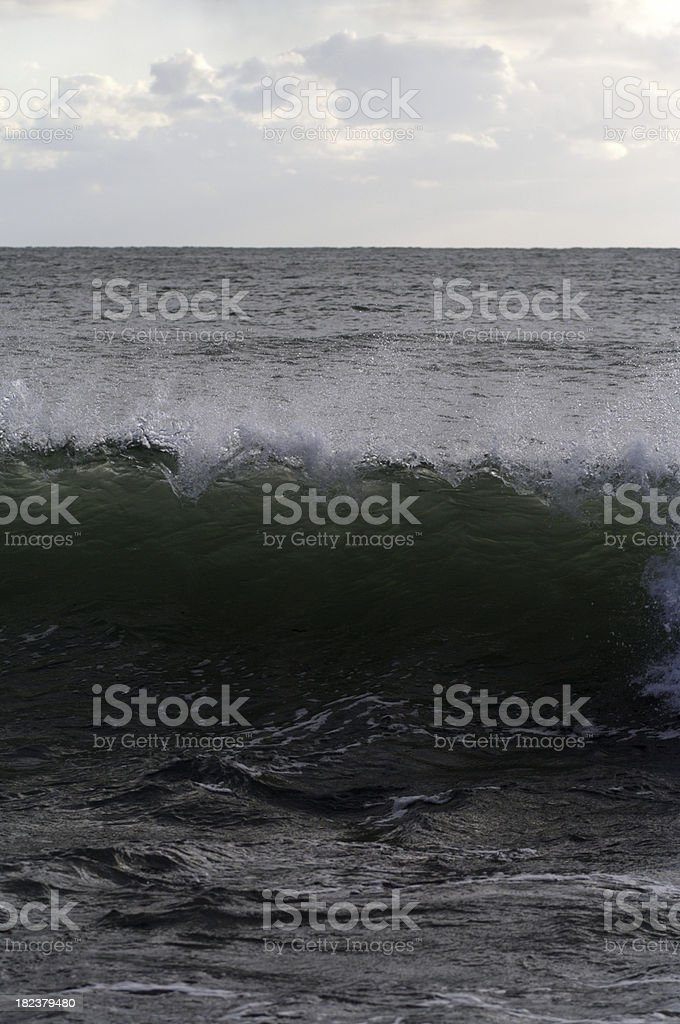 Wave Breaking stock photo