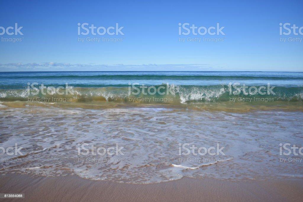 Wave Breaking stock photo