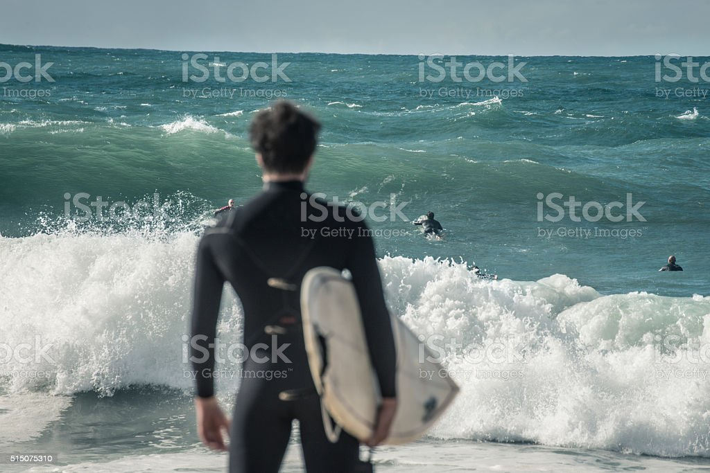 wave check stock photo