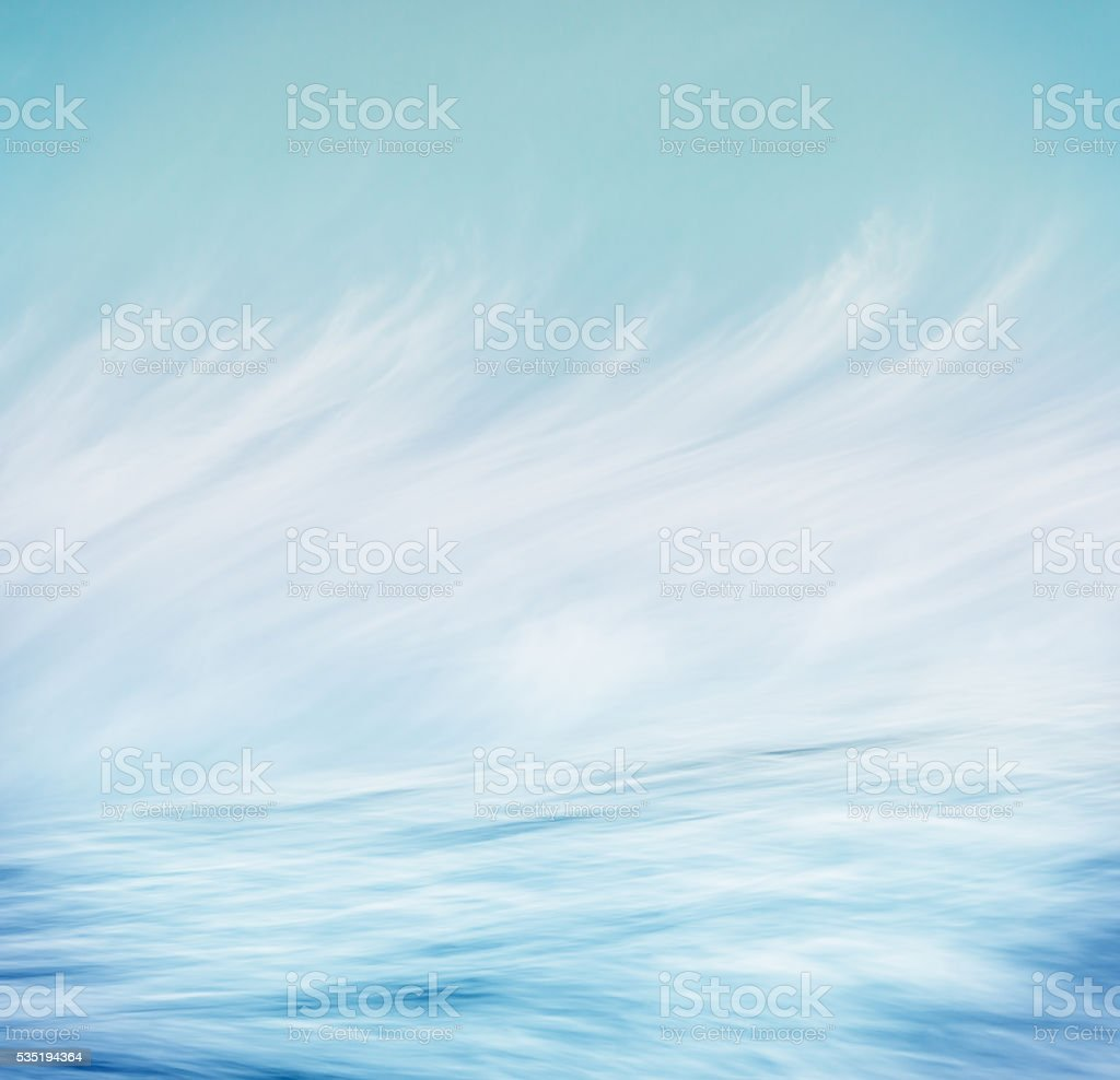 Wave Cloud Abstract stock photo