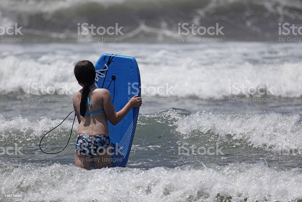 Wave Enter royalty-free stock photo