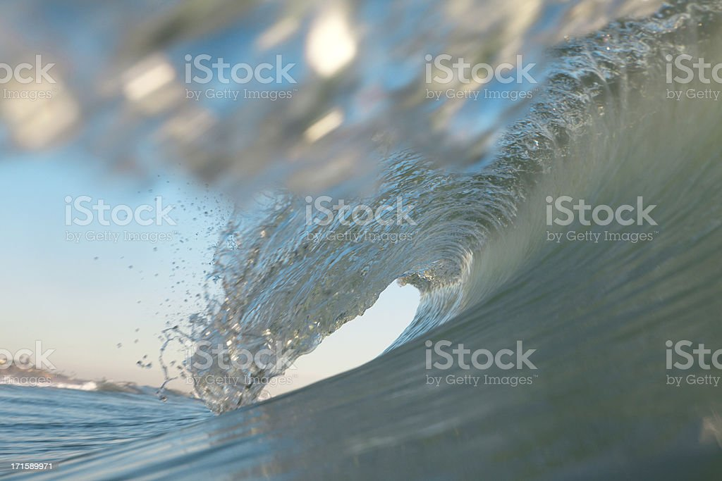 Wave from Inside royalty-free stock photo