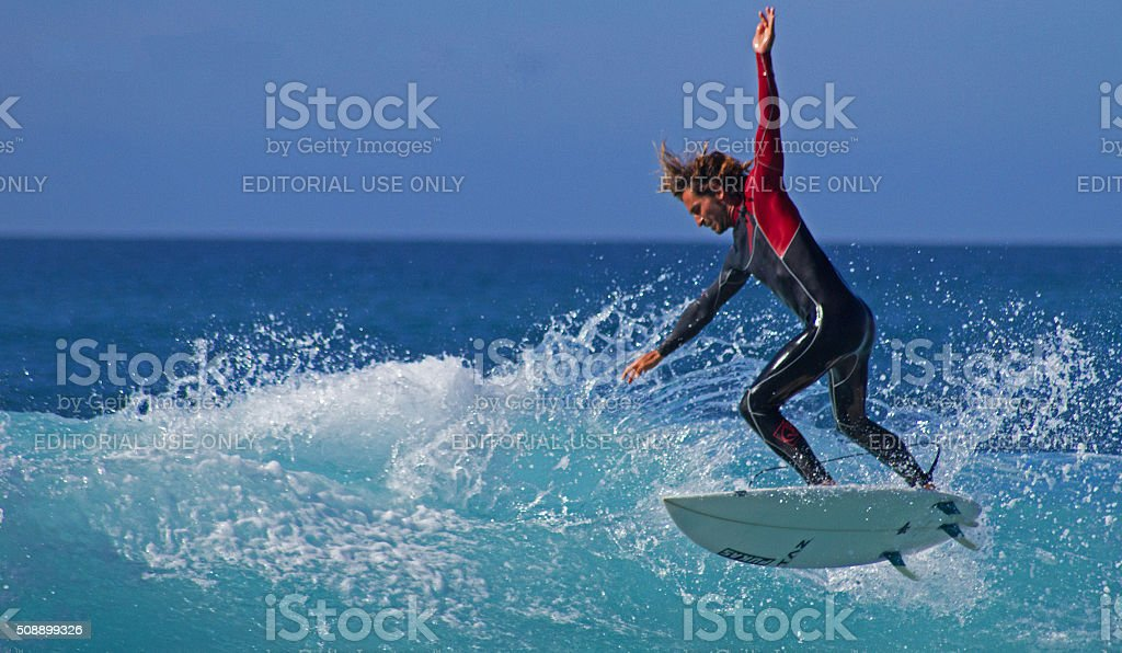 Wave jumper. stock photo