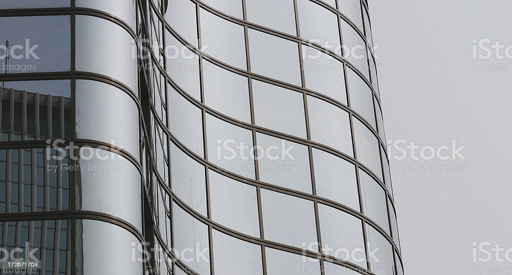 wave like windows royalty-free stock photo