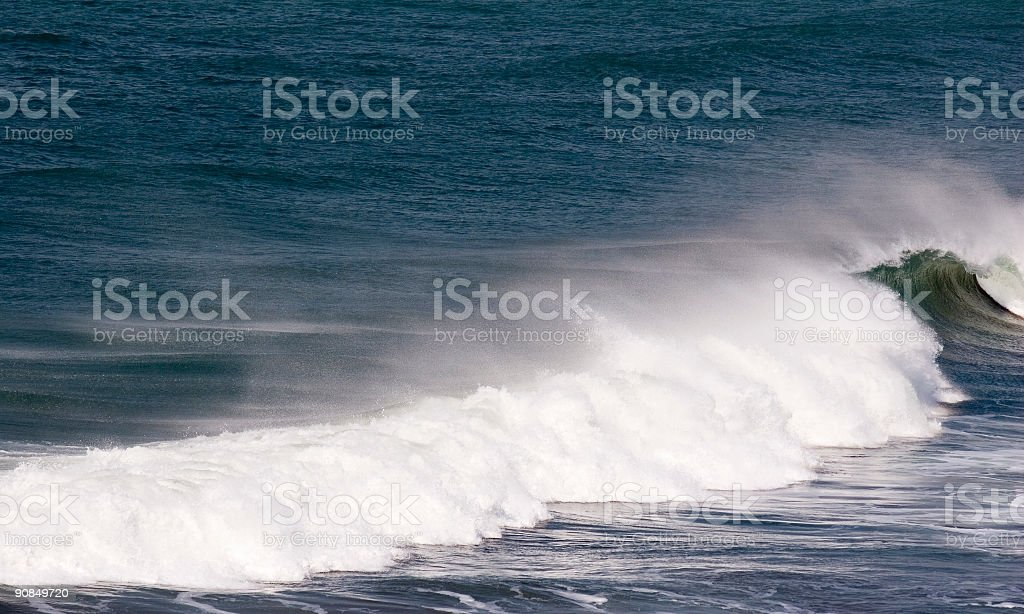 Wave Mist royalty-free stock photo