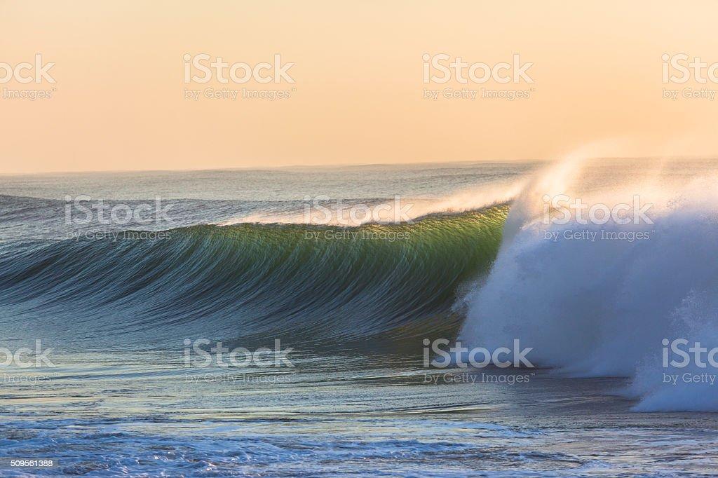 Wave Ocean Power stock photo