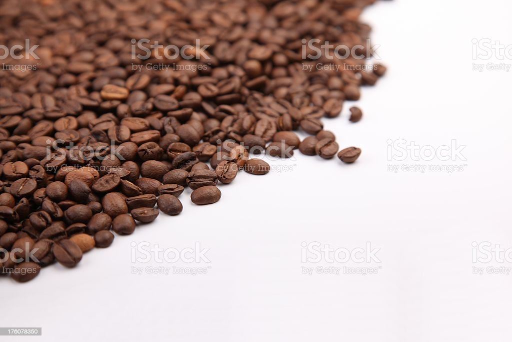 Wave of coffee stock photo
